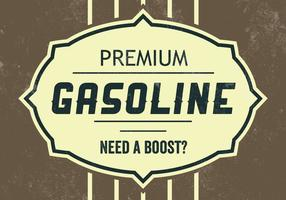 Fundo Premium do vetor da gasolina