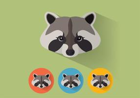 Raccoon Vector Portraits