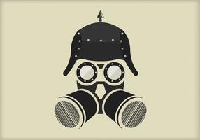 Retrato de vetor steampunk