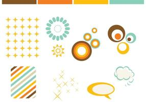 Vetores de elementos de design gratuitos