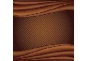 Fundo do vetor de chocolate líquido