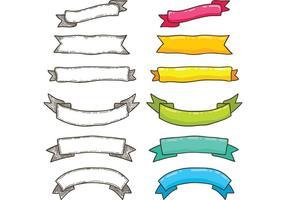 Free Bright Ribbon Vectors