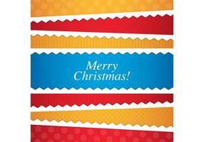 Cartão de Natal 01 vetor