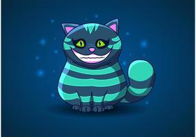 Cheshire Cat Vector de Alice in Wonderland