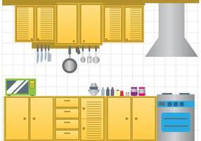 Vetor de cozinha moderna
