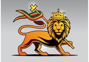 Vetor do leão de Judah