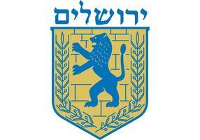 Vetor do Leão de Judá - Emblema de Jerusalém