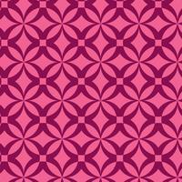 design de padrão geométrico rosa vetor
