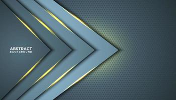 fundo abstrato triângulo com camadas brilhantes vetor