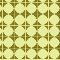 padrão geométrico verde limão vetor