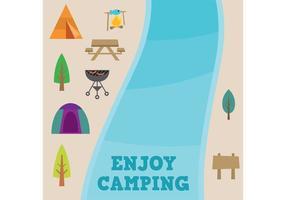 Pacote Vector de Camping