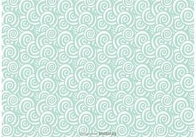 Vetor swirly padrão padrão