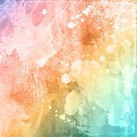 fundo colorido textura aquarela vetor