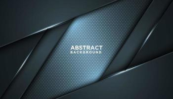 paralelogramo azul cinzento abstrato em camadas vetor