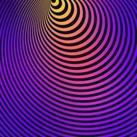 fundo listrado colorido de ilusão de ótica