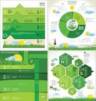 infográfico de natureza ecologia