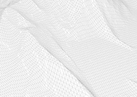 terreno de armação de arame abstrato em preto e branco vetor