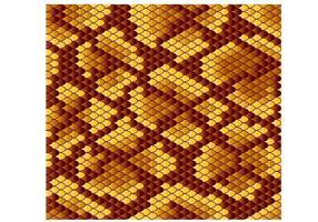 Vetor de padrão de pele de serpente