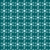 padrão de formas geométricas abstratas azul ciano vetor