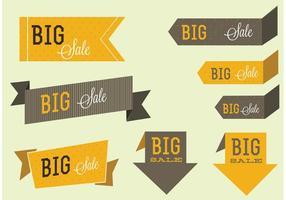 Etiquetas Decoradas e Vetores de Etiquetas