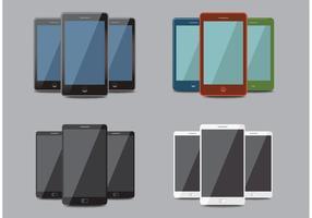 Mockups de Smart Phone vetor
