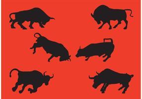 Cobrando coleção de vetores Bull