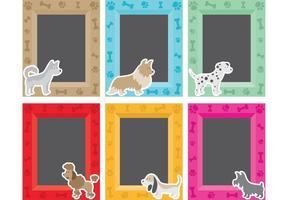 Quadros para animais de estimação vetor