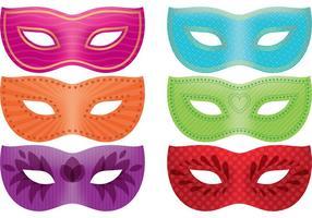 Pacote de vetores de máscaras Mardi Gras