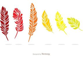 Pacote de vetores em cores coloridas