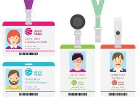 Cartões de identificação