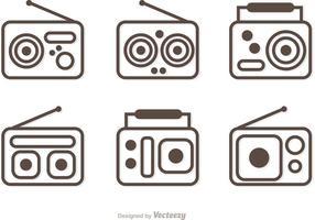 Esquema do pacote de vetores de rádio