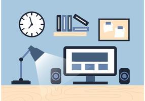 Elementos do vetor de área de trabalho