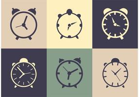 Relógios vetoriais vetor