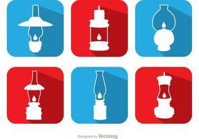 Pacote de vetores de lâmpada de gás