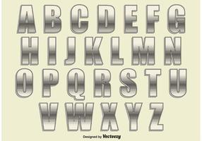 Alfabeto Retro Style vetor
