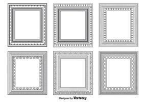 Formas de quadro de vetores