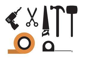 Coleta de ferramentas vetor