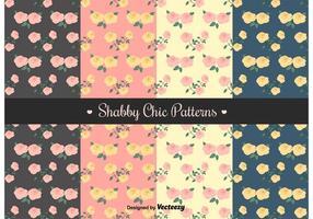 Free Shabby Chic Patterns vetor