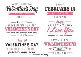 Etiquetas do dia dos namorados