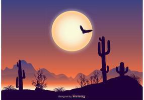 Ilustração bonita da paisagem vetor