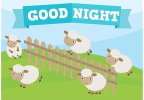 Salto de ovelha vetor