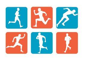 Ícones do vetor de esporte