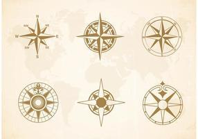 Vetor de cartas náuticas grátis