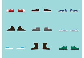 Sapatos de vetores grátis