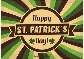 Ilustração do dia do vintage Saint Patrick vetor