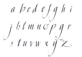Pacote de alfabeto de cartaz fantasia de vetores grátis