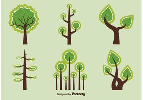 Árvores vetoriais abstratas e geométricas