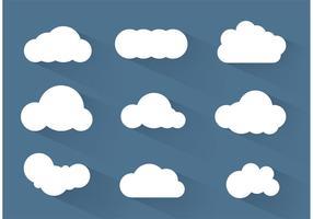 Simpe vetores da nuvem