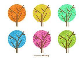 Vetores da árvore sazonal mínima