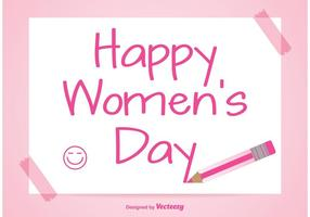 Ilustração do dia das mulheres vetor